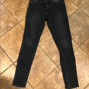 Divided Black Wash Denim Skinny Jeans